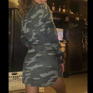 Camo Denim Express Dress